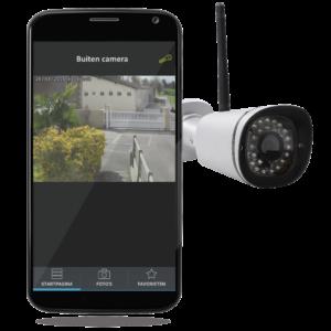 beveiligingscamera camera-buiten